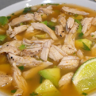 Pressure Cooker Chicken Lime Soup.