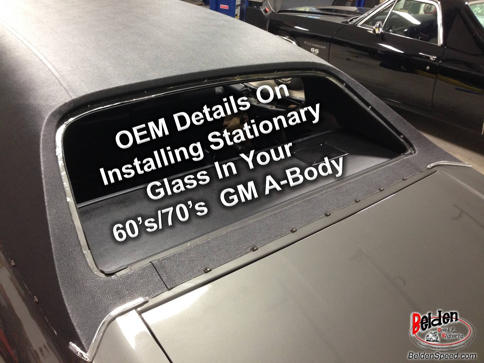 1960 S 70 S Gm A Body Stationary Oem Installation