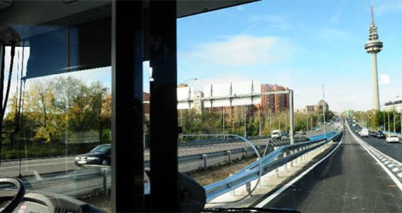 El proyecto europeo CIVITAS permitirá un carril bus en el arco Este-Sureste exterior a la M-30