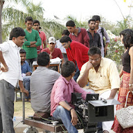 Chiru Godavalu Working Stills