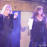 WWW.ENTSIMAGES.COM -    Helen Lederer and Harriet Thorpe host     at      West End Bares 2014 - Nude Dunnit at Cafe de Paris, London September 7th 2014Annual dance/burlesque fundraising show hosted by TheatreMAD in aid of The Make A Difference Trust.  Photo Mobis Photos/OIC 0203 174 1069