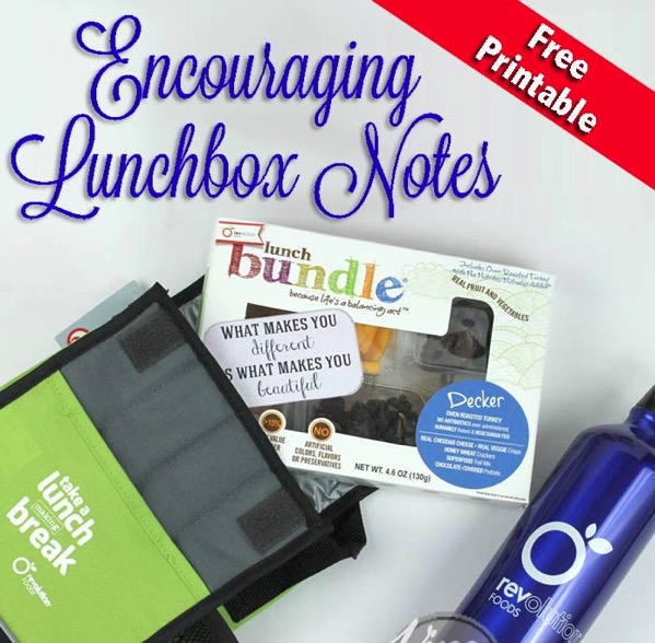 Encouraging Lunchbox Notes To Pack For Your Kids