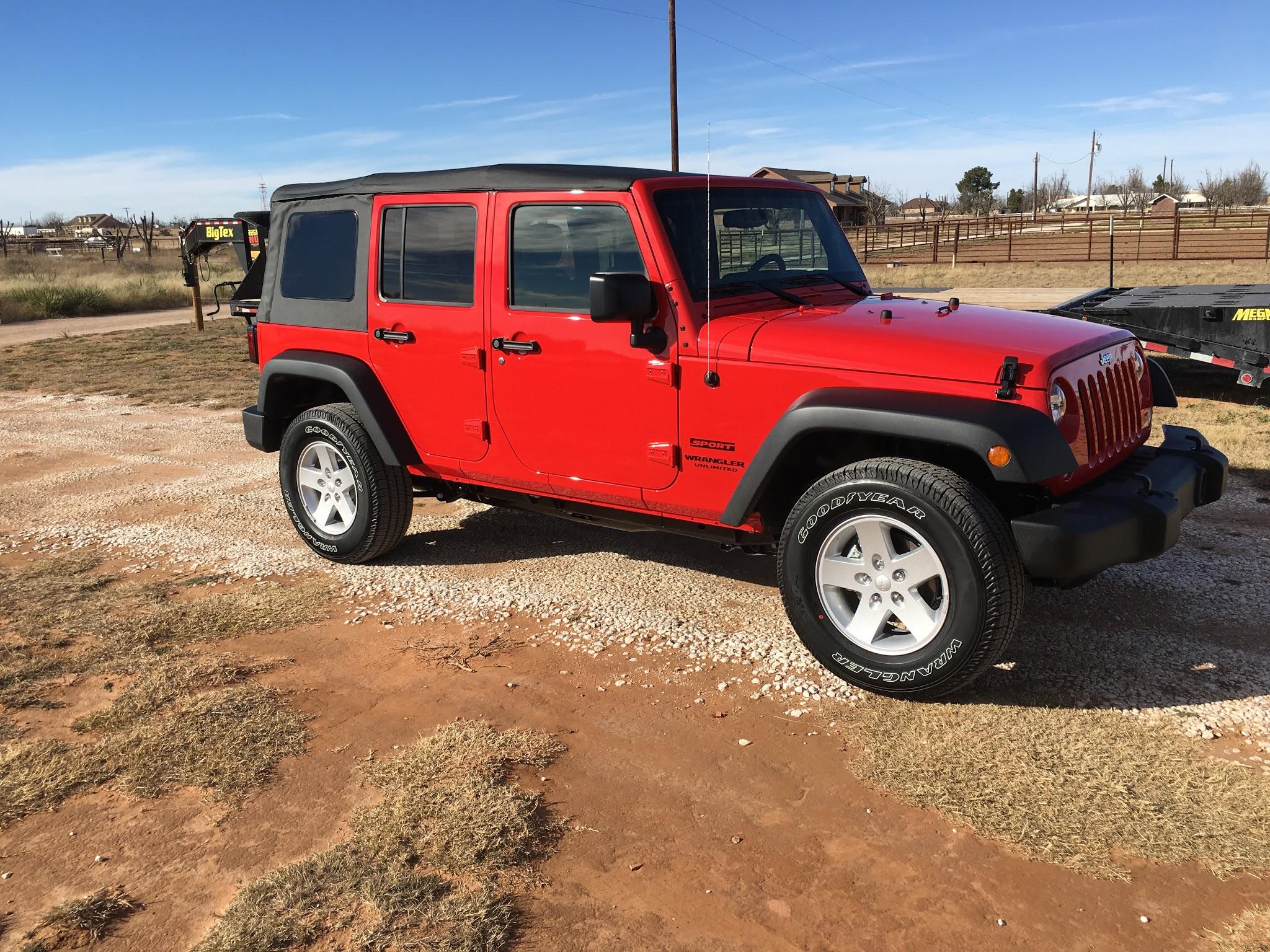 Howdy From West Texas Jeep Wrangler Forum