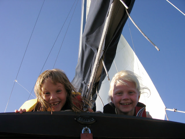 Even the young enjoy a good sailing day in Bellingham Bay. / Credit: Aimee Frazier