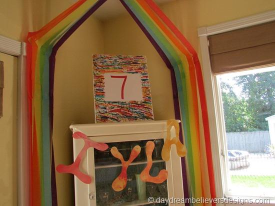 DIY Art Party at Home - DIY Decorations