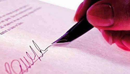 Un contrato para el Éxito