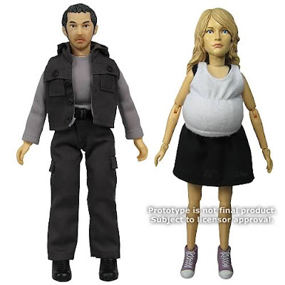 LOST Miles Straume & Claire Littleton 8 Inch Mego Style Action Figures by Big Bang Pow!