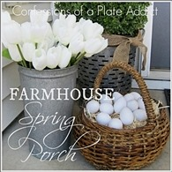 CONFESSIONS OF A PLATE ADDICT Farmhouse Spring Porch 6