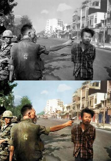 Виет Конг - Най-известните исторически черно-бели фотографии в цвят