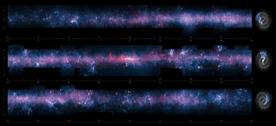 o plano austral da Via Láctea