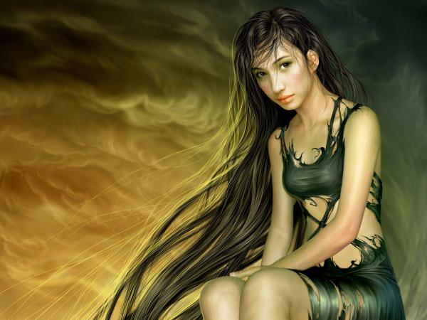 Girl With Very Long Hairs, Fairies 2