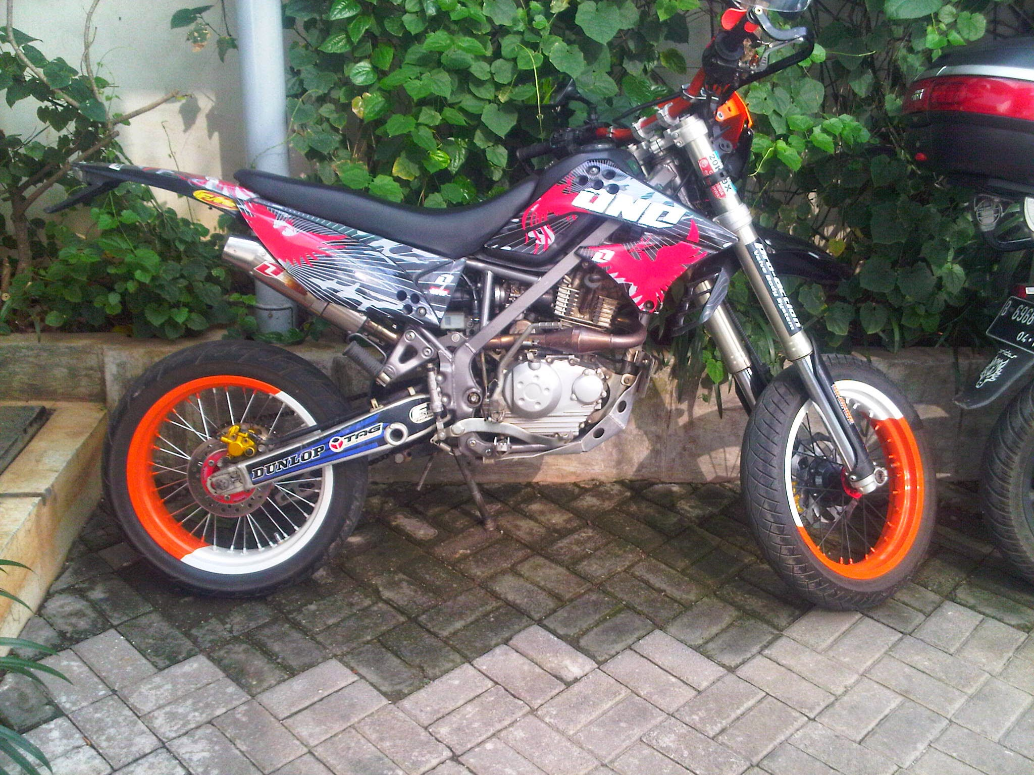 KlxDTracker150Modifikasimodifikasiklx150menjadisupermoto6940