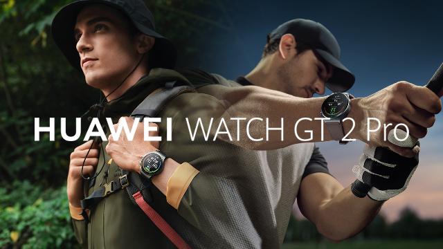 สมาร์ทวอทช์สุดฮอตกับกีฬายอดฮิต HUAWEI WATCH GT 2 Pro