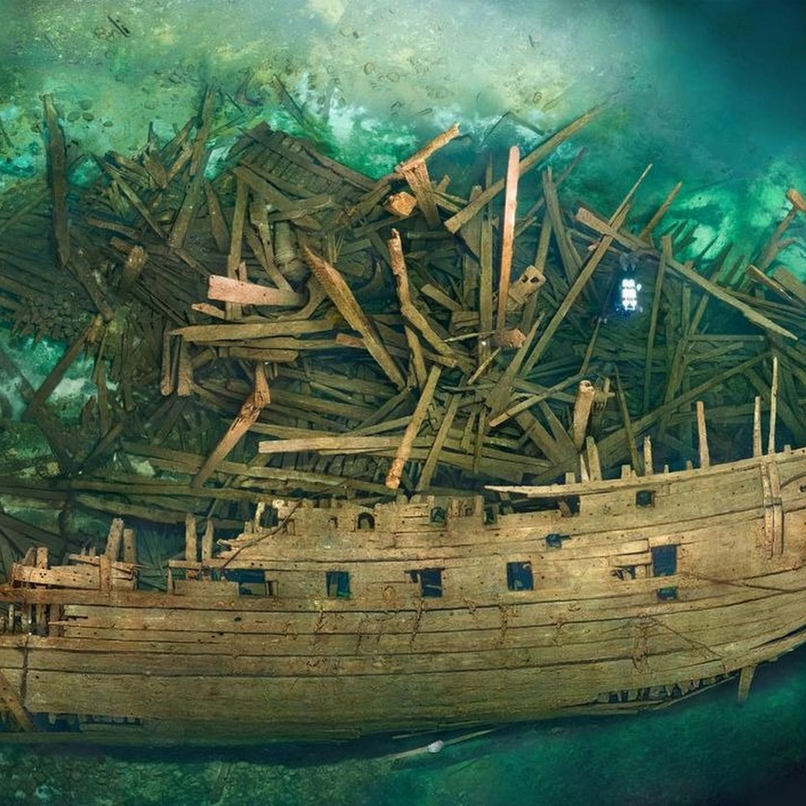The Wreck of Swedish Warship Mars