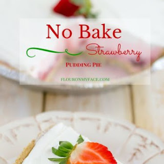 Strawberry Pudding Pie.
