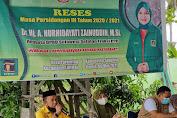 Reses di Parenring, Kades Sebut Karier Politik Andi Nurhidayati Luar Biasa