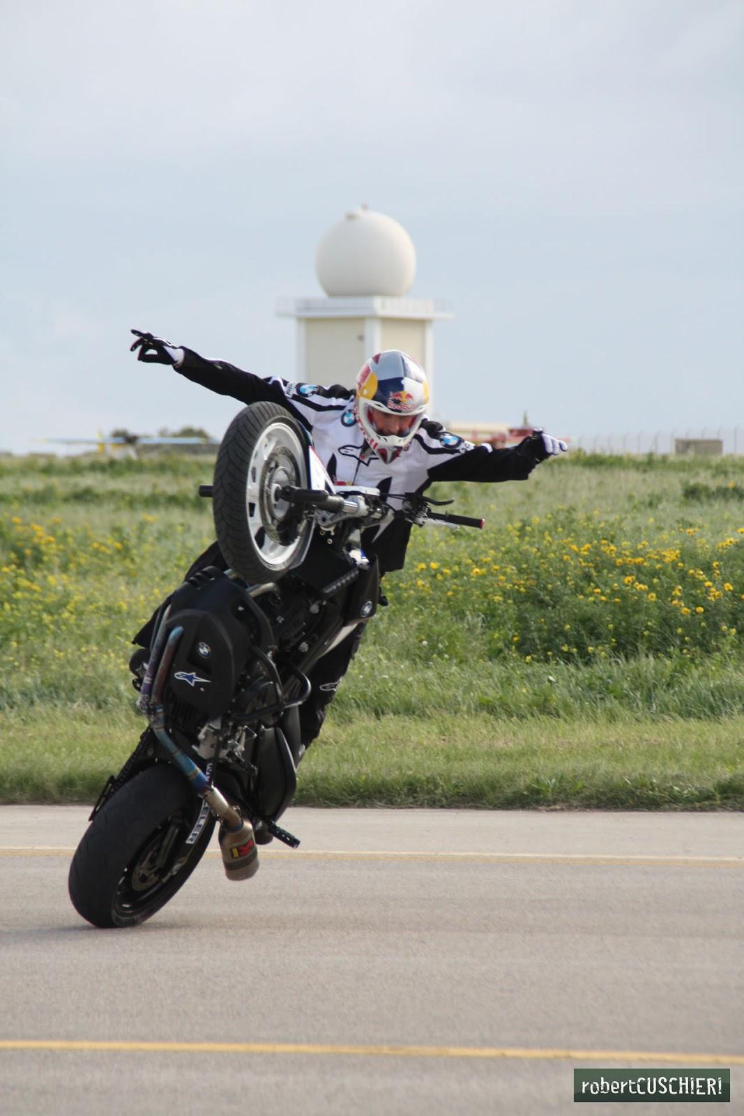 World Stunt Riding Champion Chris Pfeiffer