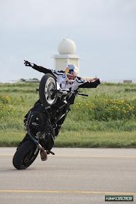 World Stunt Riding Champion, Chris Pfeiffer