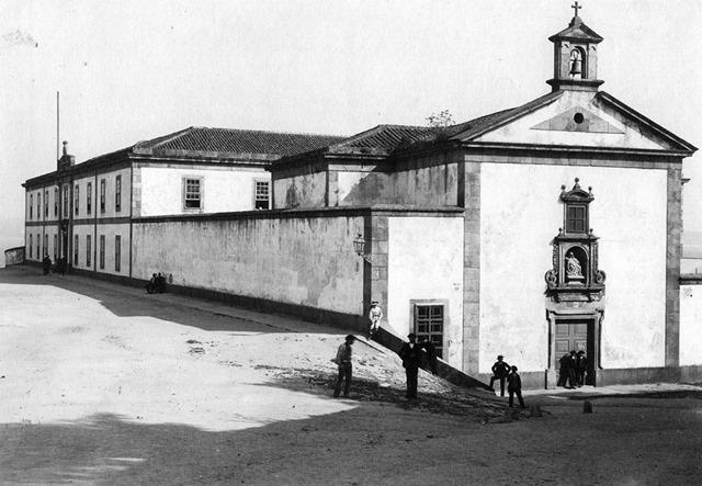 1895. HOspital Militar, actual Abente y Lago