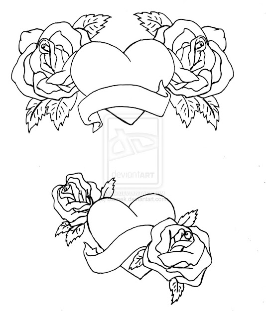 Best cross with roses coloring pages design for Coloring pages of crosses and roses