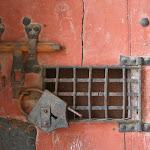 Château : porte de l'ancienne prison