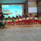 Poetry Recitation in Nursery (2014-15) at Witty World