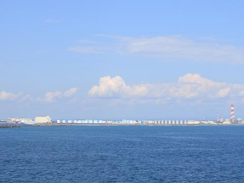 商船三井フェリー「さんふらわあ ふらの」 苫小牧港入港 その1