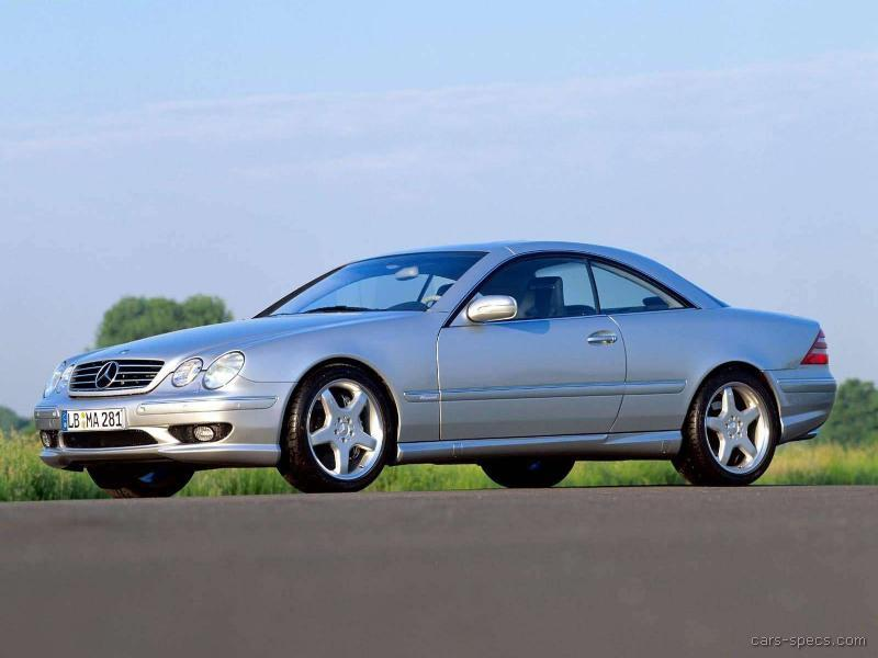 2001 Mercedes Benz Cl Class Cl55 Amg Specifications