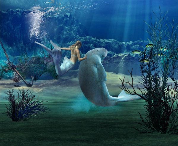Main Dugong Mermaid, Undines