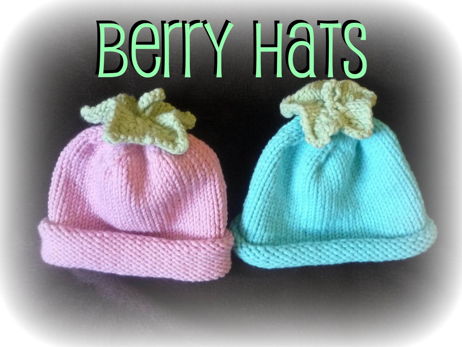 Snips spice knitted berry hats knitted berry hats this is an easy pattern to knit for a premature baby bankloansurffo Gallery