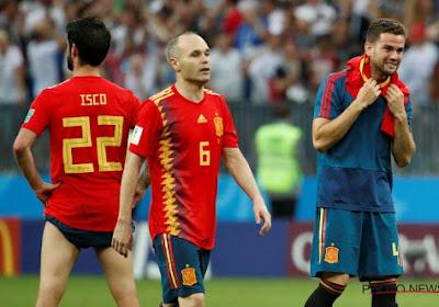 Les adieux émouvants d'Andrès Iniesta à la sélection espagnole