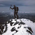 2851 Paul Crowsley on top of Piz Bernia- Alps 2000.JPG