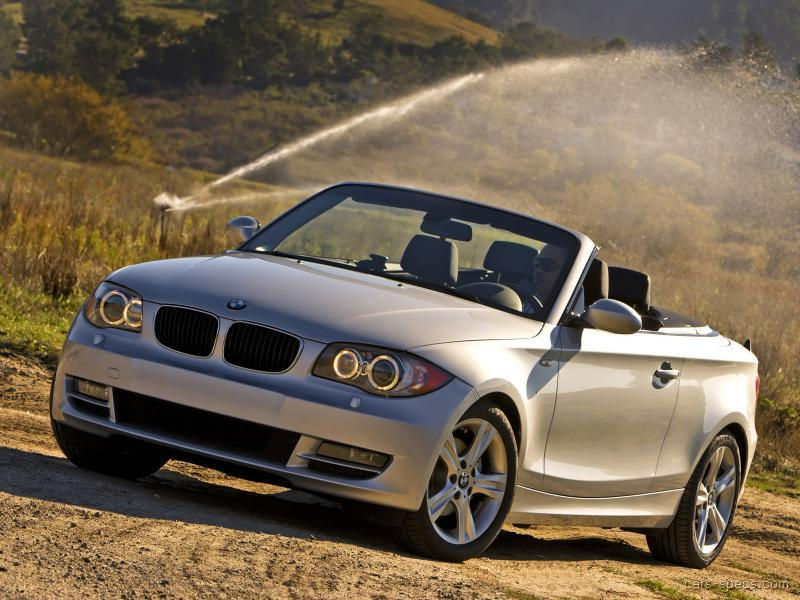 2008 bmw 1 series convertible specifications pictures prices. Black Bedroom Furniture Sets. Home Design Ideas