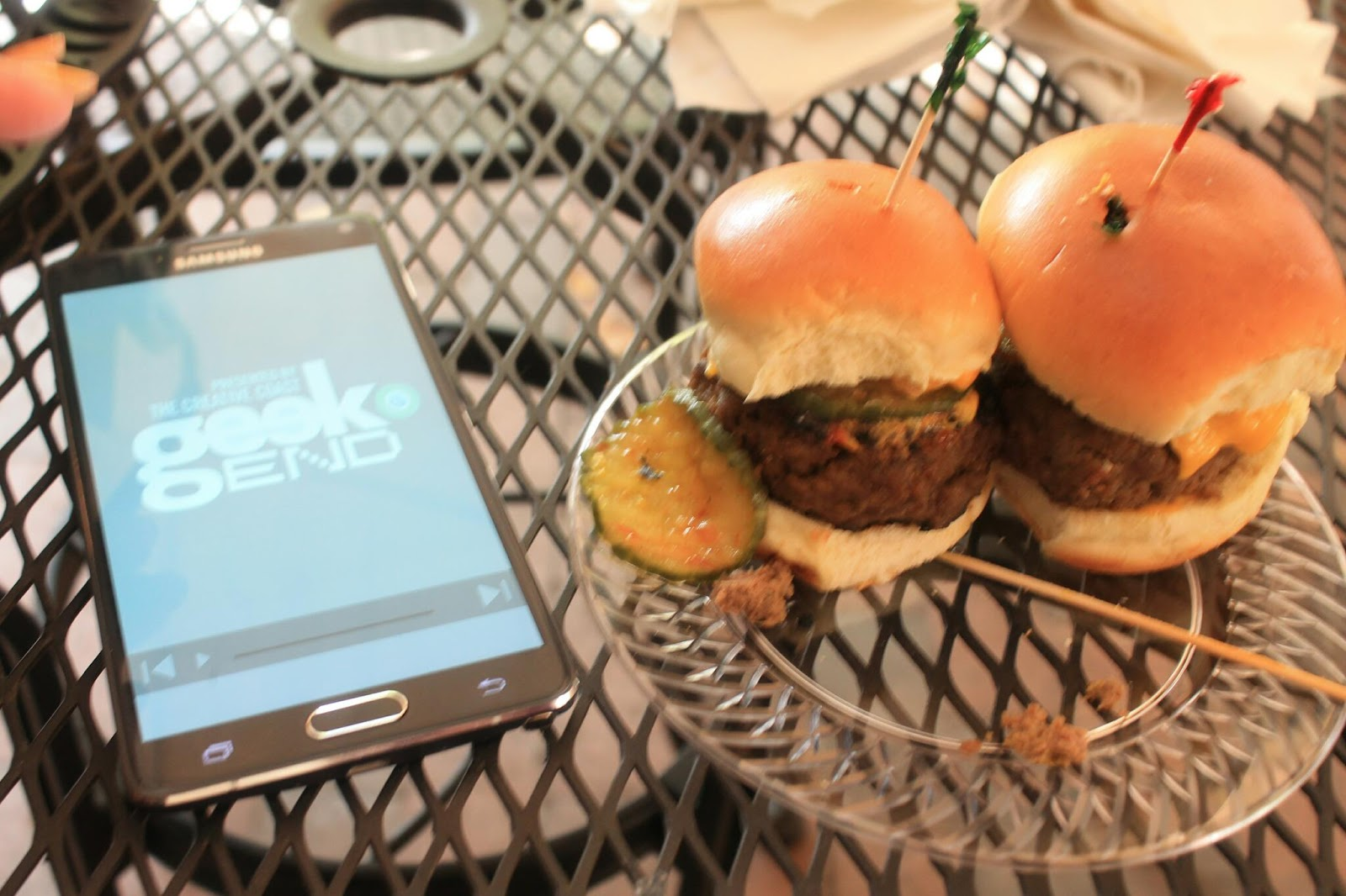 Sly's Burgers & Fries at Geekend Technology Conference 2015 Savannah Georgia