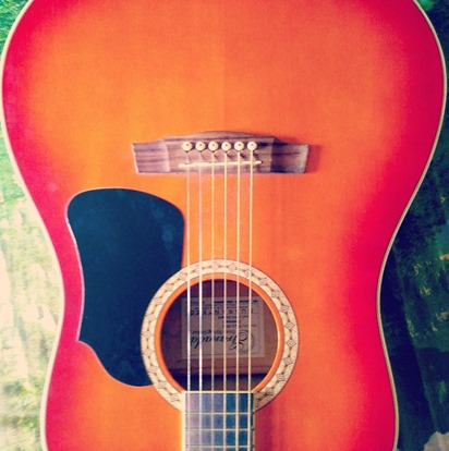 Upamanyu Acharya's Acoustic Guitar