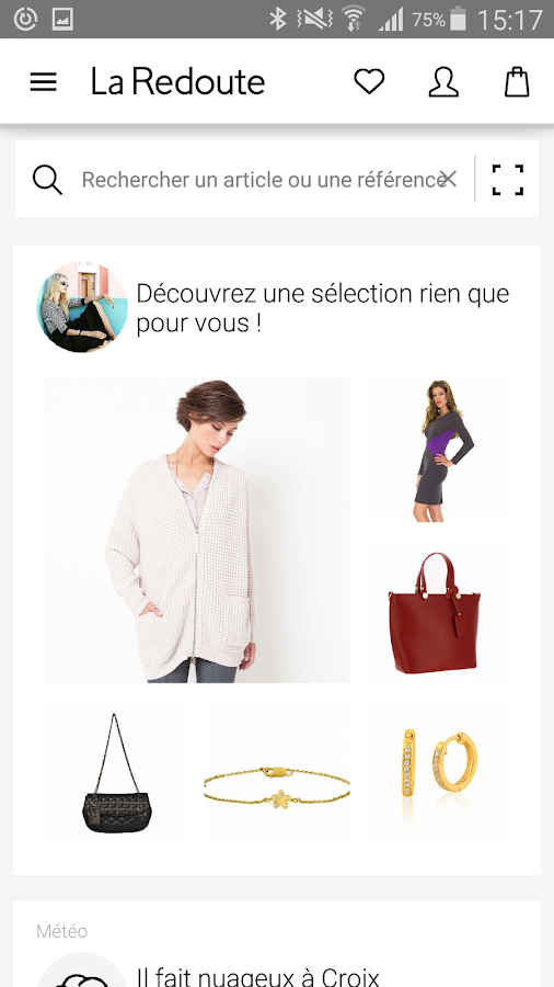 La redoute mode maison applications android sur for Application construction maison android