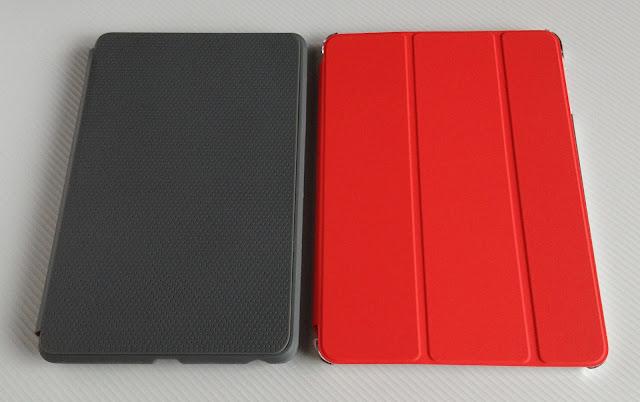 Nexus7+トラベルカバーとiPad mini+スマートカバー