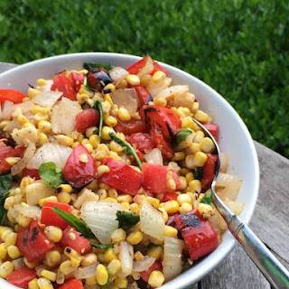 Smoky Corn and Pepper Salad