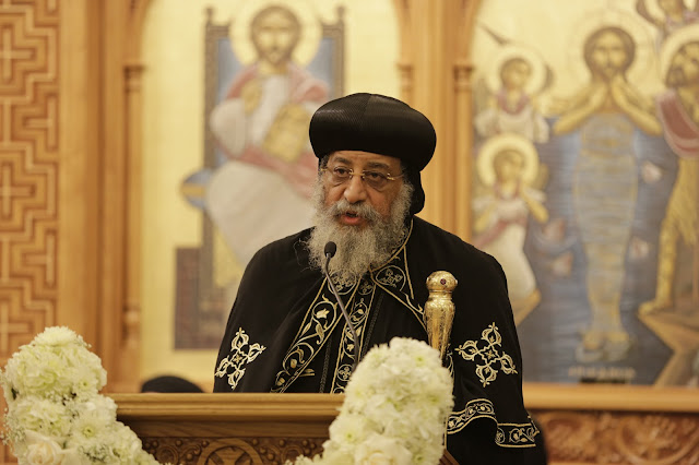 His Holiness Pope Tawadros II visit to St. Mark LA - _09A9203.JPG