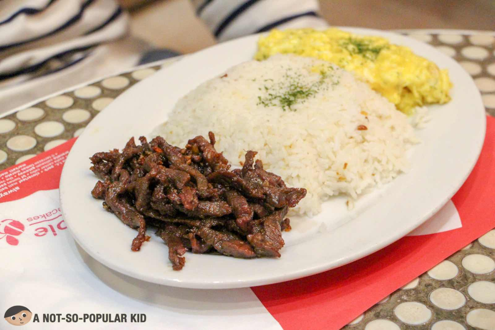 Sirloin Garlic Beef Tapa of Banapple
