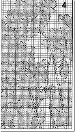 zorro con amapolas punto de cruz  (9)