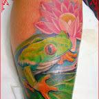 leg - Frog Tattoos
