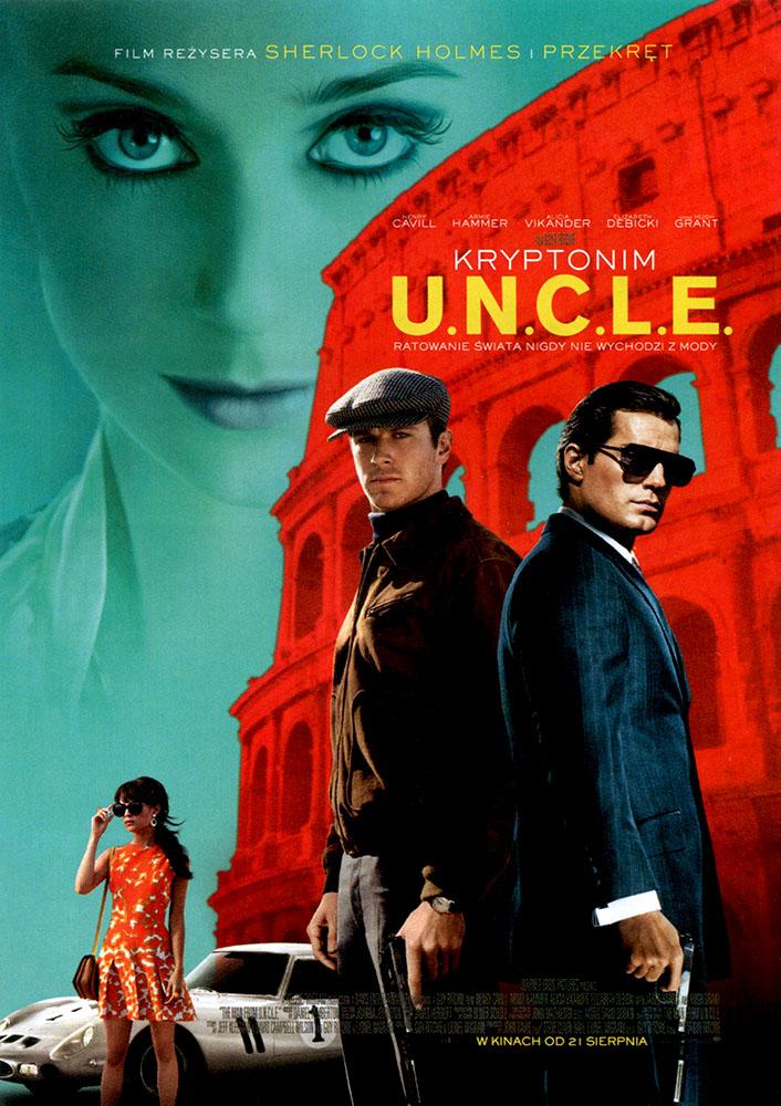 Ulotka filmu 'Kryptonim U.N.C.L.E (przód)'