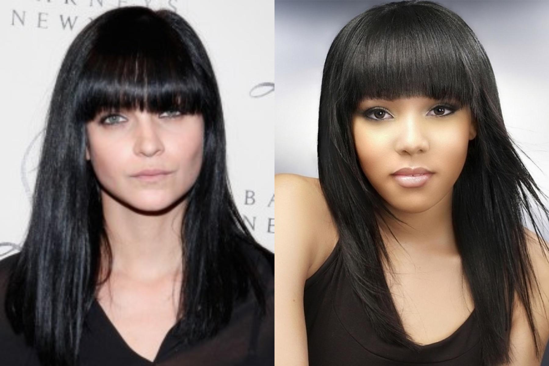2018 Long Bangs Hairstyles For Women's - Haircuts Bangs 3