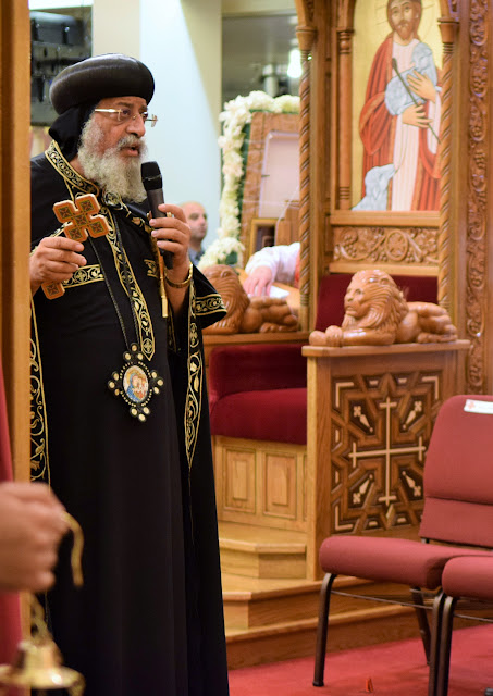 His Holiness Pope Tawadros II visit to St. Mark LA - DSC_0184.JPG