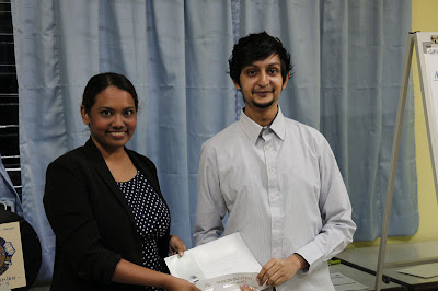 Gurmeet won 2nd placing in both 2012 Humorous Speech and Evaluation contest.