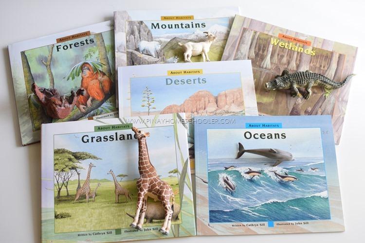 Animal Habitats of the World List of Books