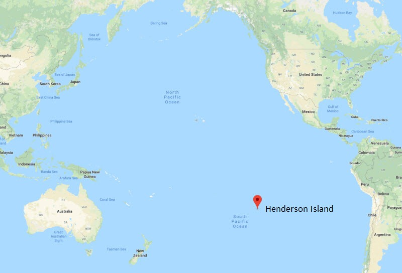 henderson-island-map