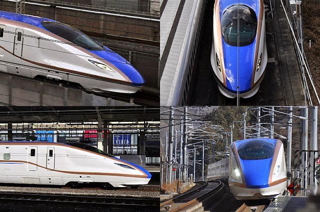 Tàu hỏa Shinkansen W7 Kagayaki
