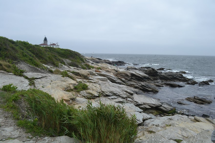 Маяк Бивертейл, Род-Айленд (Beavertail Lighthouse, Rhode Island)